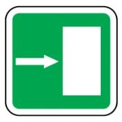 Safe Safety Sign - Door Right 046